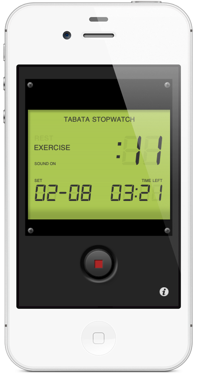 Tabata Stopwatch iPhone