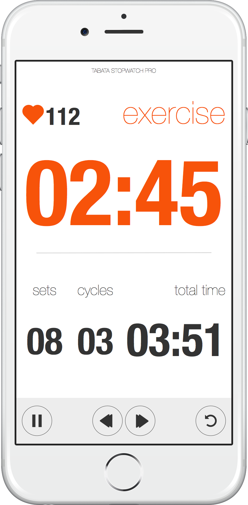 Tabata Stopwatch Pro Tabata Timer for iOS and Android