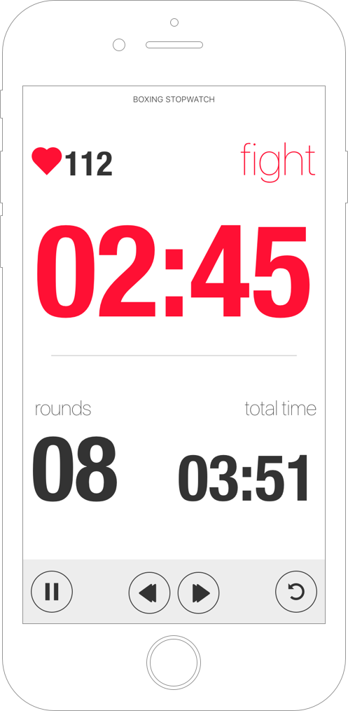 Tabata Stopwatch Pro for iPhone