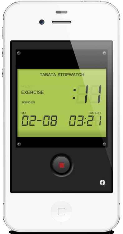Tabata Stopwatch iPhone